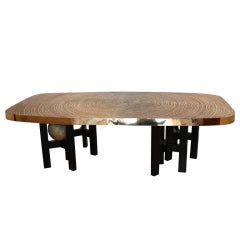 Bronze Dining Table by Ado Chale