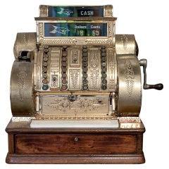 Antique American National Cash Register