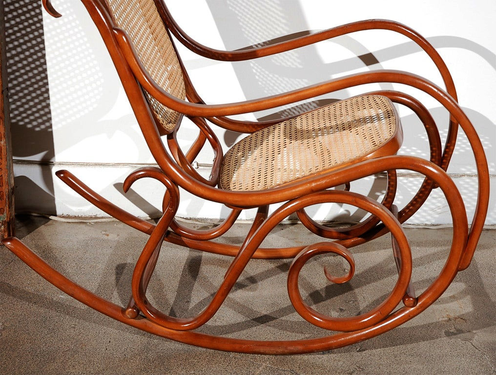 this thonet bentwood rocking chair is no longer available