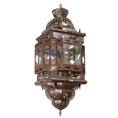Moroccan Glass Pendant