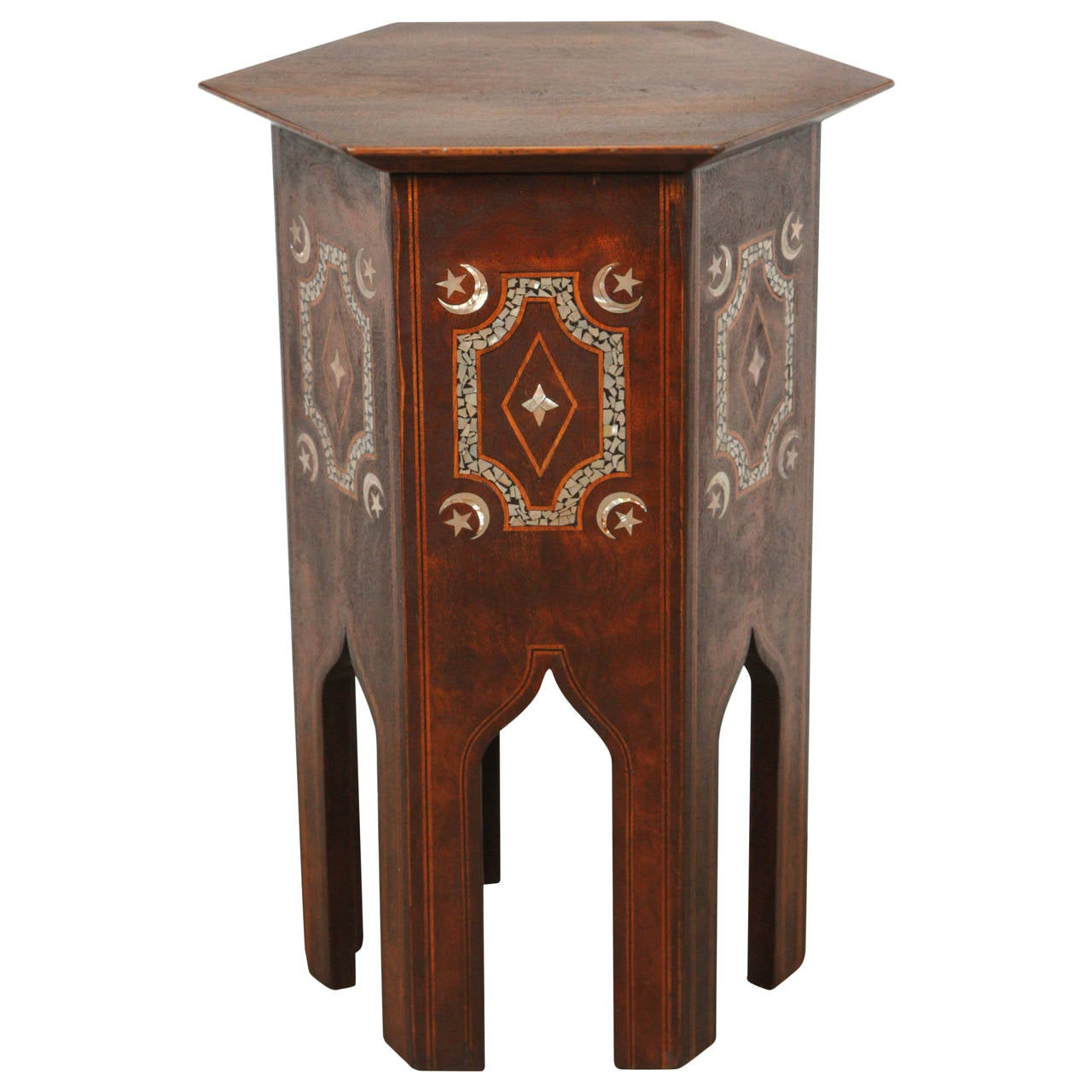 Middle Eastern Turkish Side Or Tea Table At 1stdibs