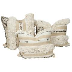 Set of Three Moroccan Wedding Throw Pillows