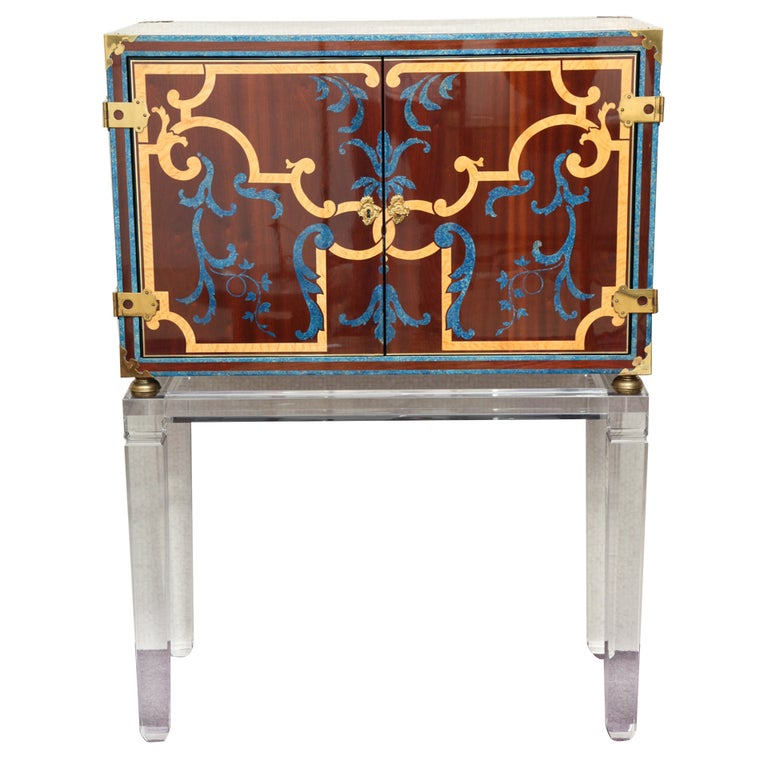 romeo paris cabinet drinks cabinet at 1stdibs. Black Bedroom Furniture Sets. Home Design Ideas