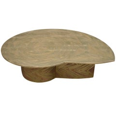 Marc Damens - Freeform coffee table