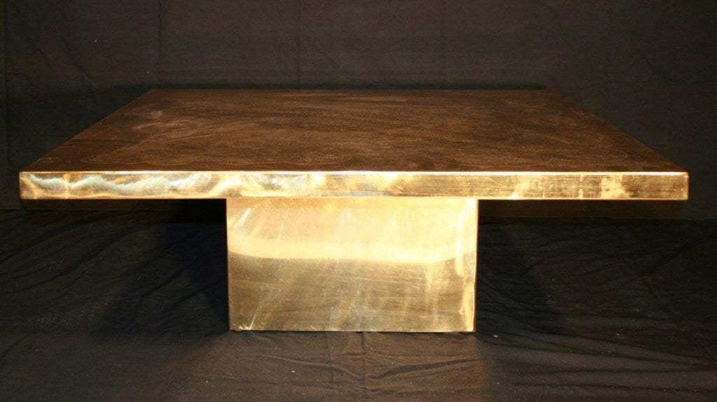 Mid-Century Modern Armand Jonckers Square Coffee Table For Sale