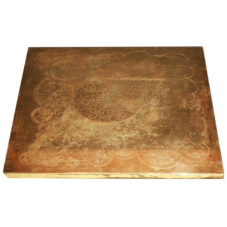Armand Jonckers Square Coffee Table For Sale