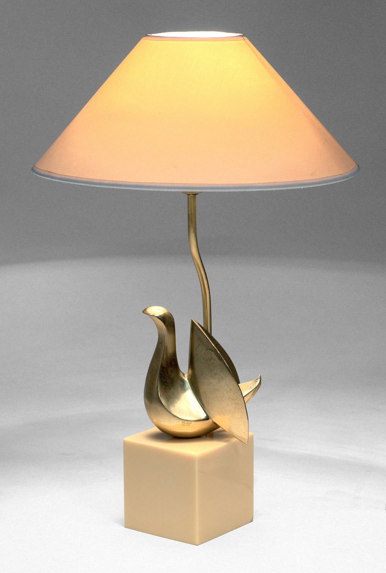 Mid-Century Modern Table Lamp by Philippe Jean For Sale