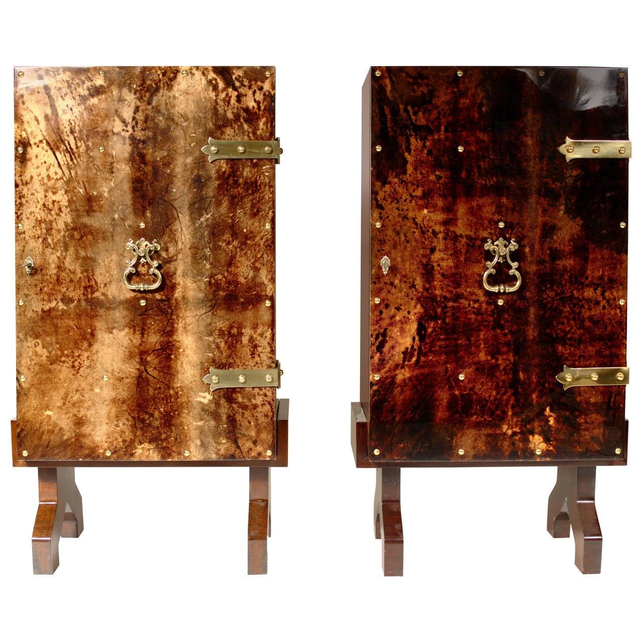 Pair of Bars by Aldo Tura