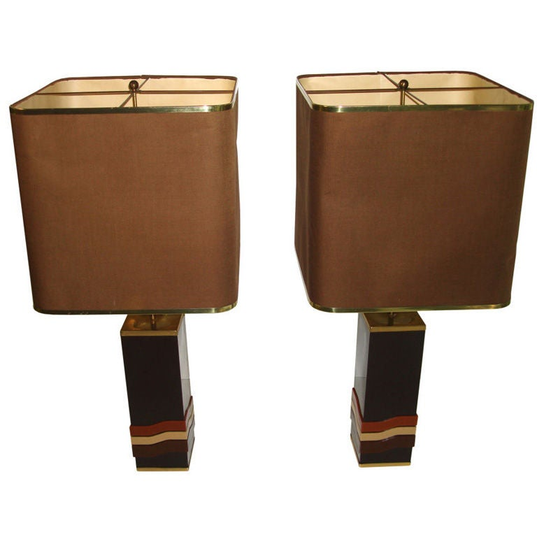 Pierre Cardin Pair of Table Lamps