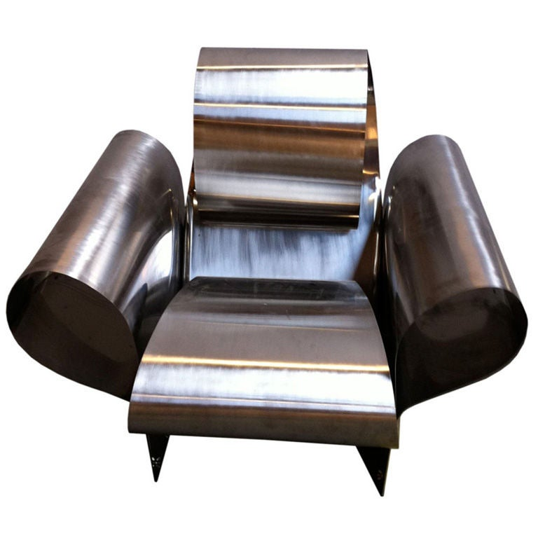 ron arad well tempered chair at 1stdibs. Black Bedroom Furniture Sets. Home Design Ideas