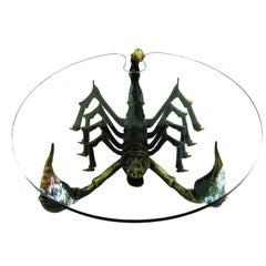 Attributed to Jacques Duval Brasseur Scorpion Table