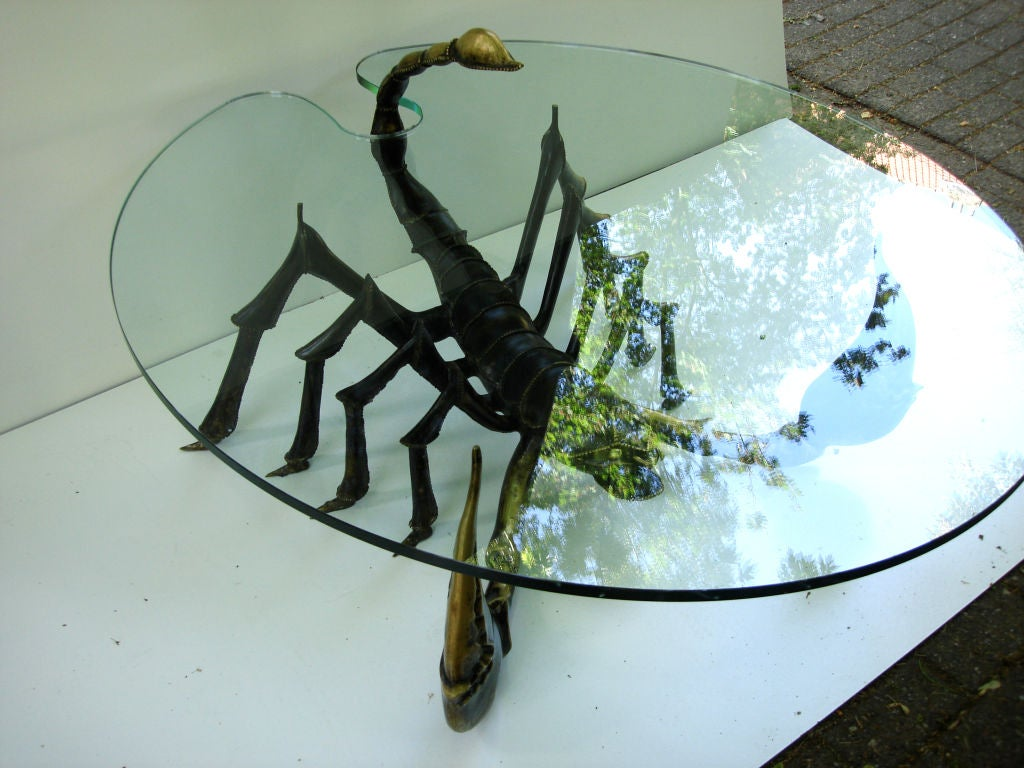 Attributed to Jacques Duval Brasseur Scorpion Table In Excellent Condition For Sale In New York, NY