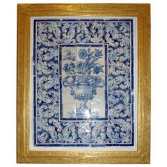 Large and Important Decorative Panel