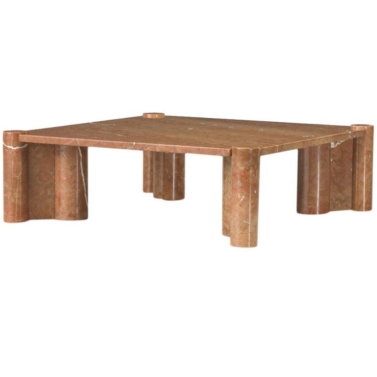 jumbo marble coffee table by gae aulenti jumbo at 1stdibs