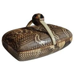 Python Box by A & Y Augousti
