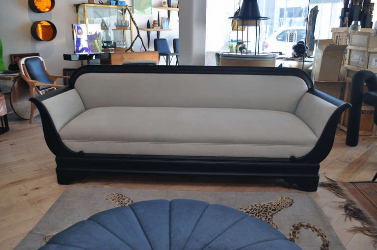 C 1920 S American Empire Style Sofa At 1stdibs