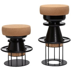 Tembo Stool by Note Design Studio for La Chance