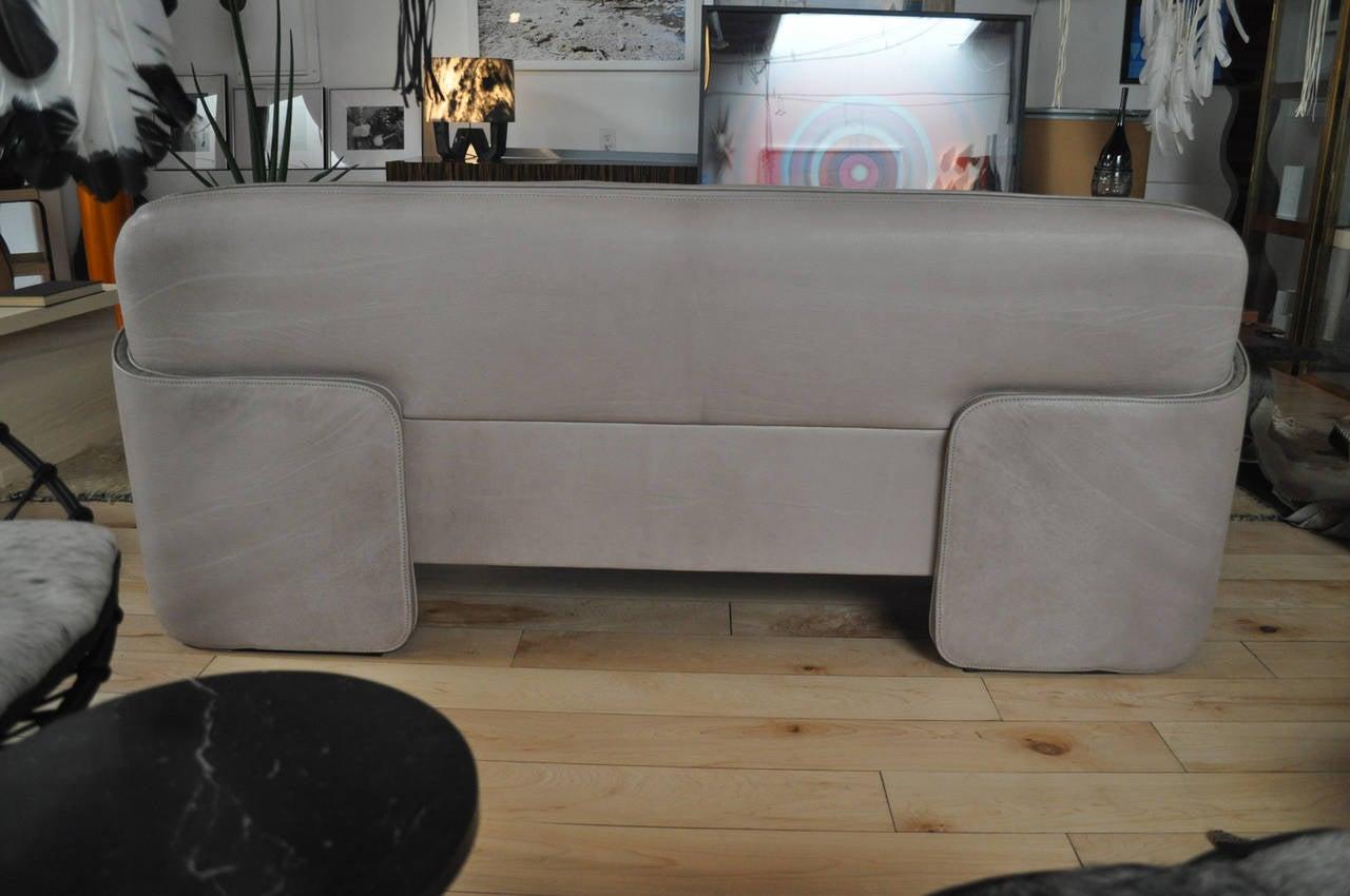 ds 125 sofa by gerd lange for de sede at 1stdibs. Black Bedroom Furniture Sets. Home Design Ideas