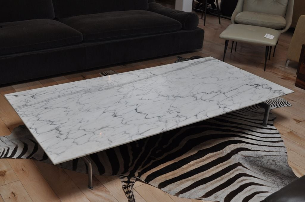 Marble Coffee Table : Diesis Marble Coffee Table by Antonio Citterio for B&B Italia image 2