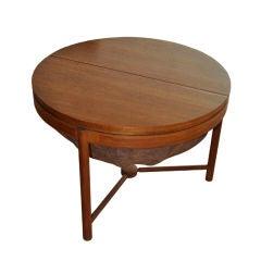 1960's Teak Sewing Table by Rastad Og Relling