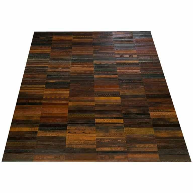 Rugs Furniture: Vintage Leather Belt Area Rug At 1stdibs