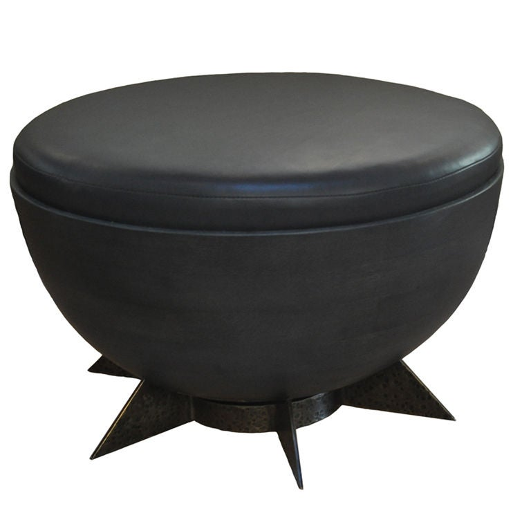 Pilluelo Ottoman by Jorge L. Cruzata for Siglo Moderno For Sale