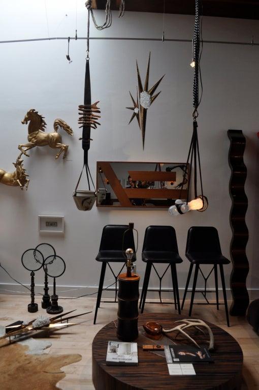 Ilse Hammon Ruocco Quartz and Brass Wall-Relief Sculpture For Sale 3
