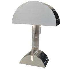 George Kovacs Polished Metal Lamp