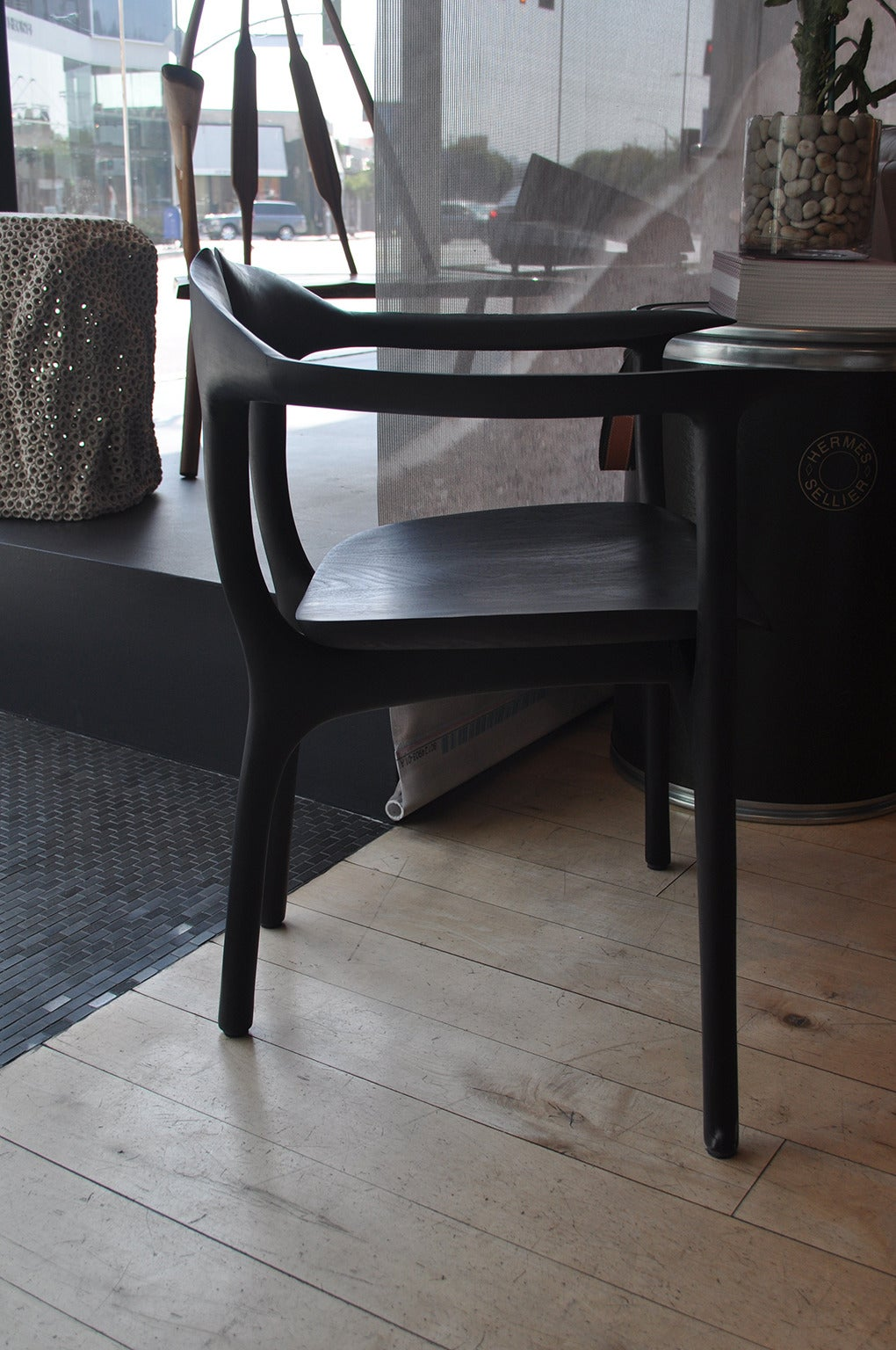Ebonized Swallowtail Chair For Sale