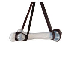 Blasfemur Pendant Light with Leather Strap