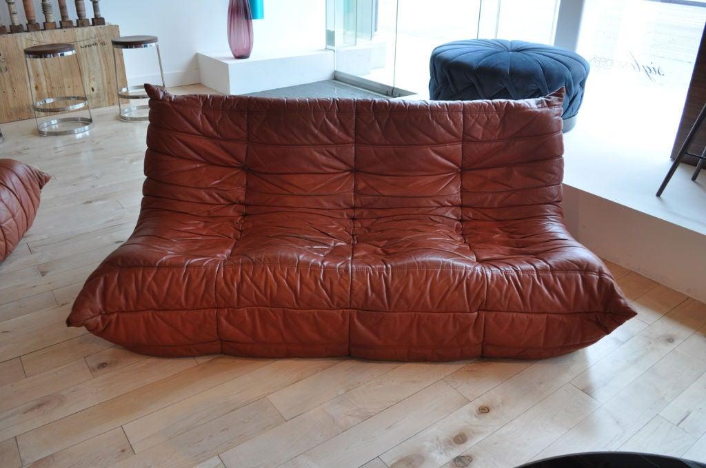 Togo 2 piece seating set by michael ducaroy for ligne roset at 1stdibs - Salon togo ligne roset ...