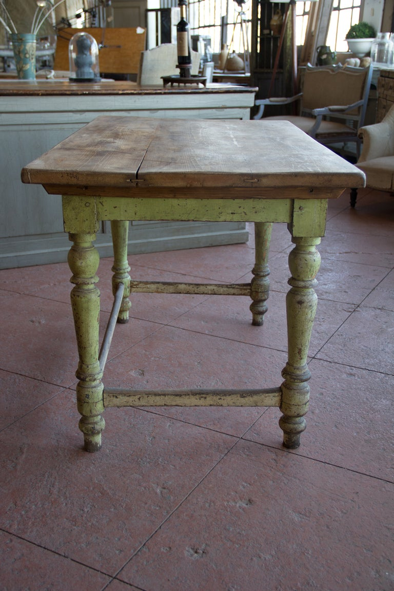English Victorian Painted Desk At 1stdibs