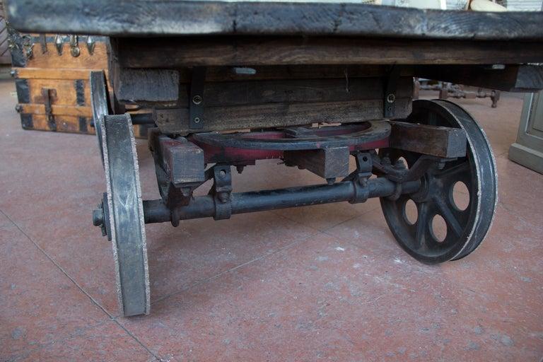 vintage british mill cart at 1stdibs