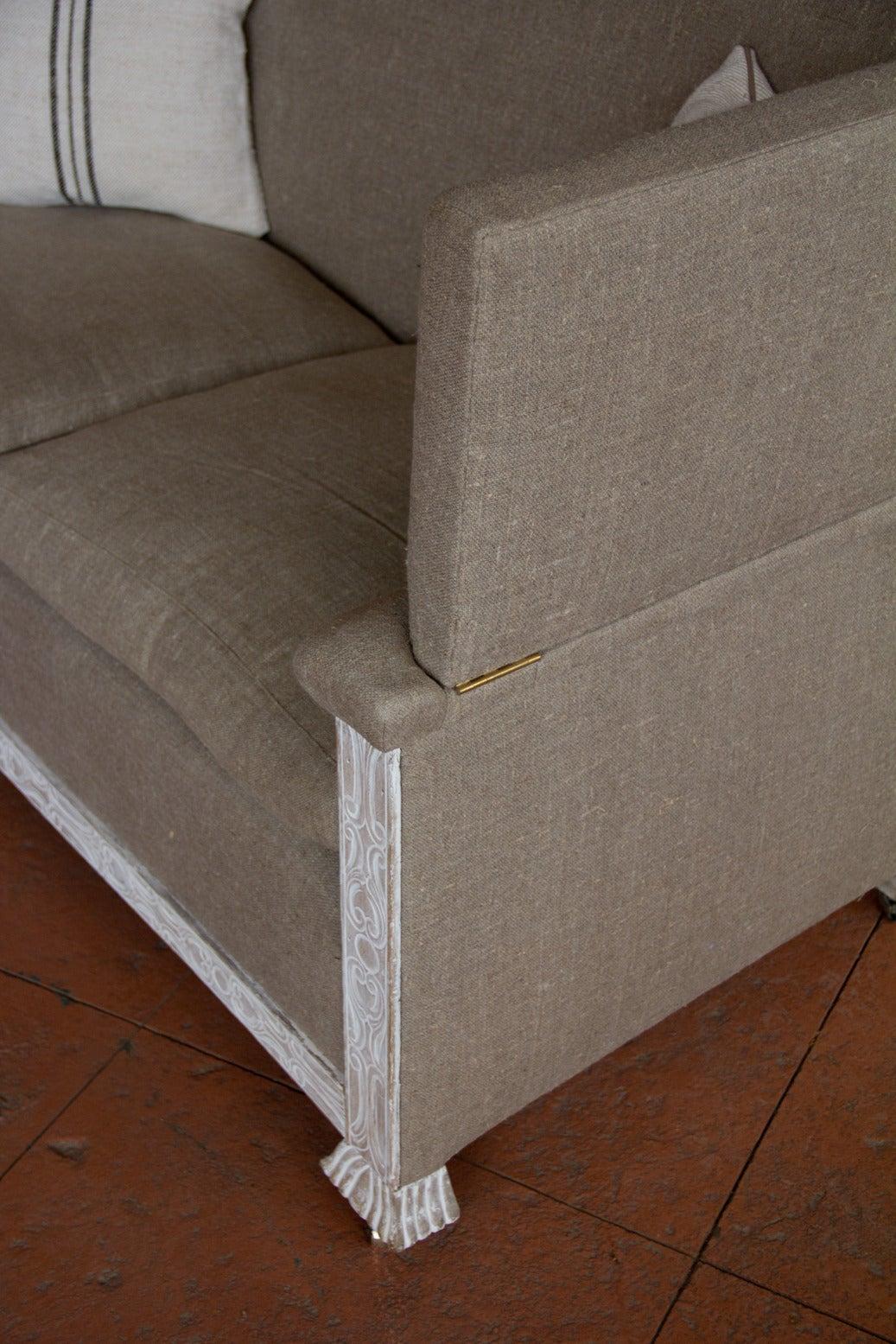 1920s English Knole Sofa For Sale At 1stdibs
