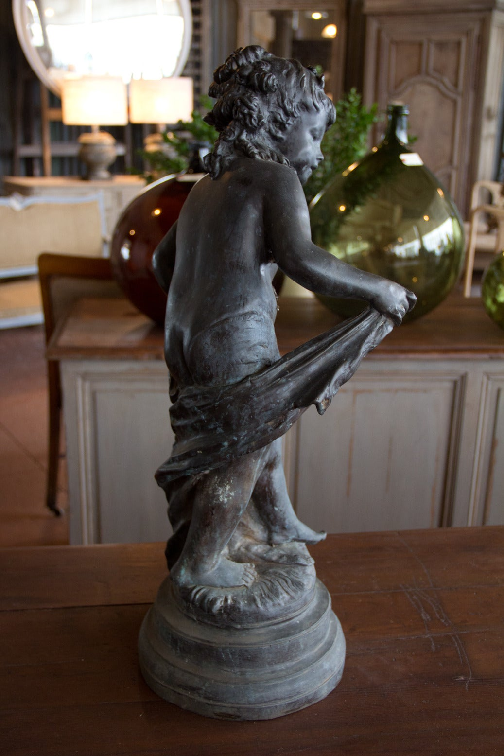 Antique French Bronze Statue For Sale At 1stdibs