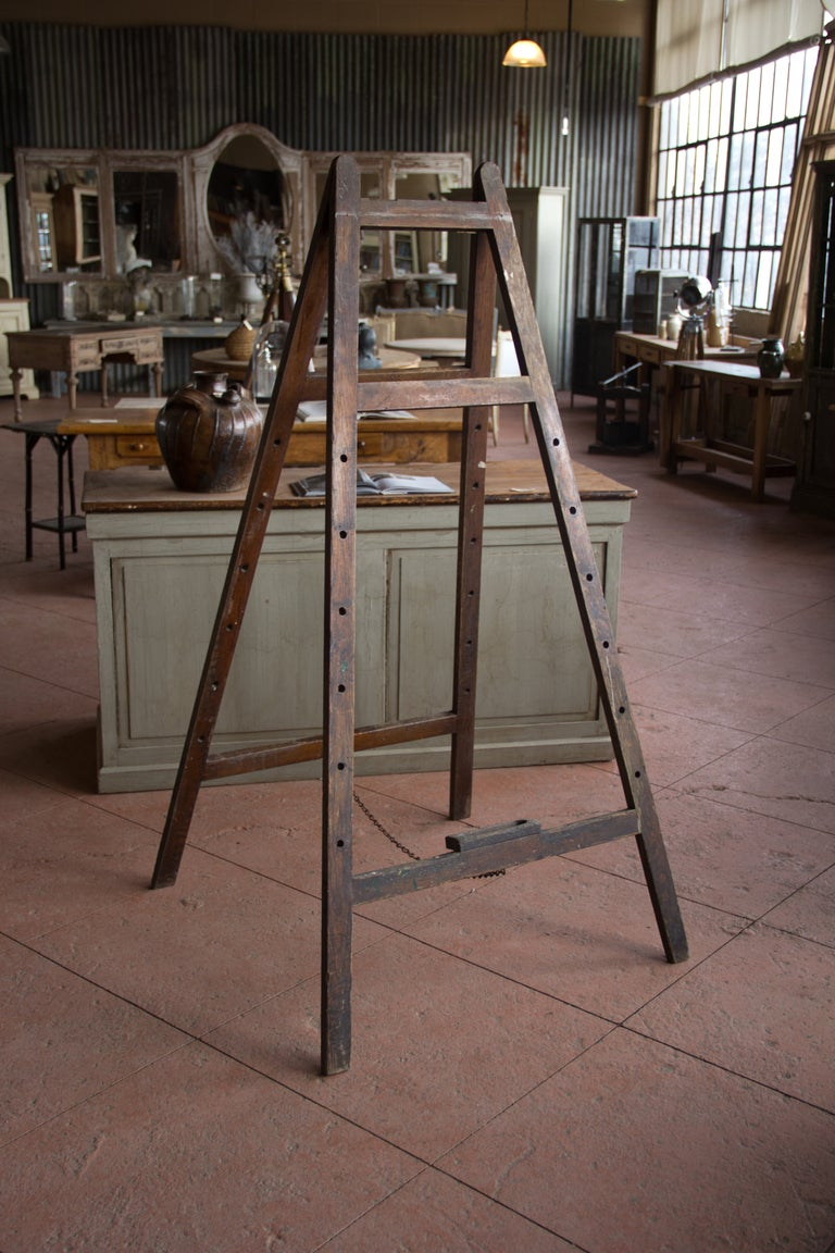 Vintage English School Easel image 2
