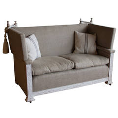 1920s English Knole Sofa