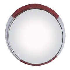 Large Vintage Convex Mirror