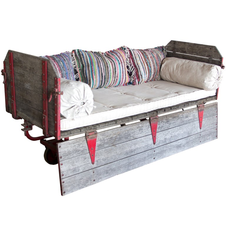 Antique Furniture Suppliers Mail: Vintage Canadian Mail Cart At 1stdibs