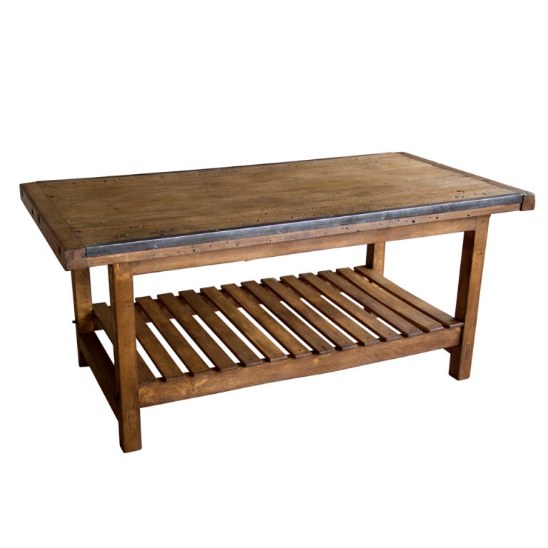 Antique English School Work Table At 1stdibs