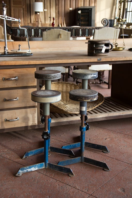 Vintage Industrial English Potters Wheels At 1stdibs