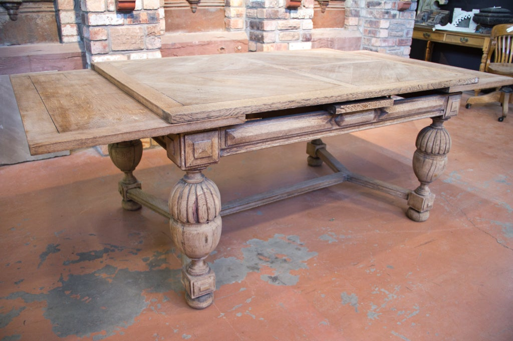 antique french oak dining room table at 1stdibs
