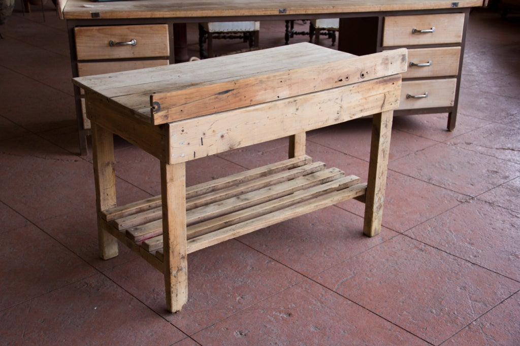 Victorian rustic potting table potting benches calgary by - Victorian Rustic Potting Table At 1stdibs