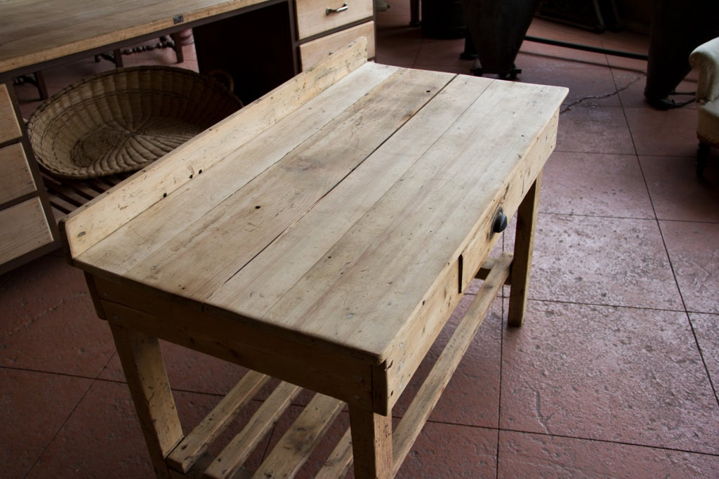 Victorian Rustic Potting Table At 1stdibs