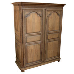 18th Century French Oak Armoire
