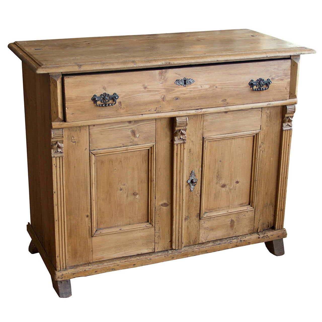 Antique English Pine Cupboard 1 - Antique English Pine Cupboard At 1stdibs
