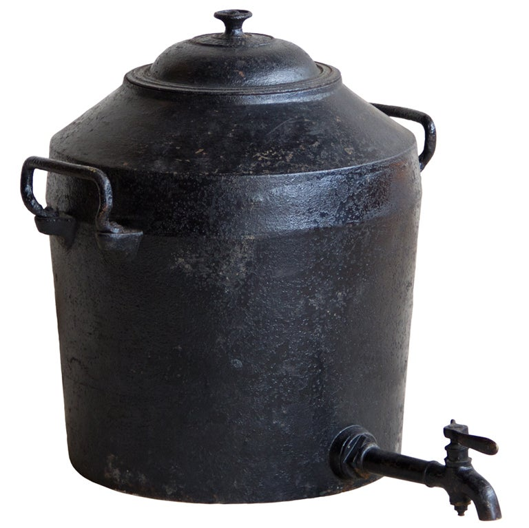 Antique 10 Gallon Clark Pot At 1stdibs