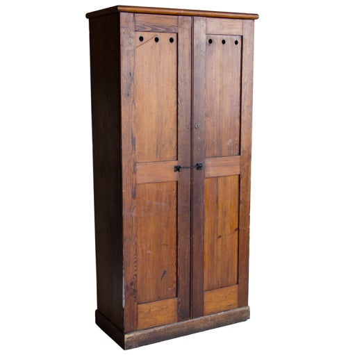 Antique British Pine Post Office Cupboard At 1stdibs
