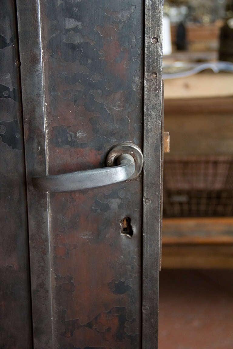 Old Steel Door : Antique metal door at stdibs