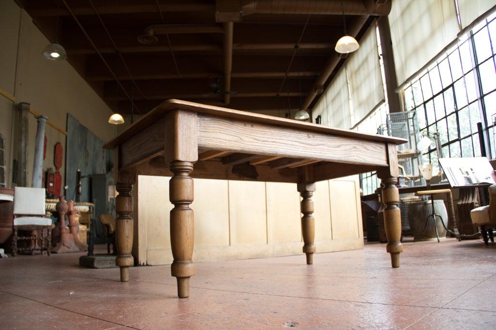 Antique English Oak School Desk at 1stdibs